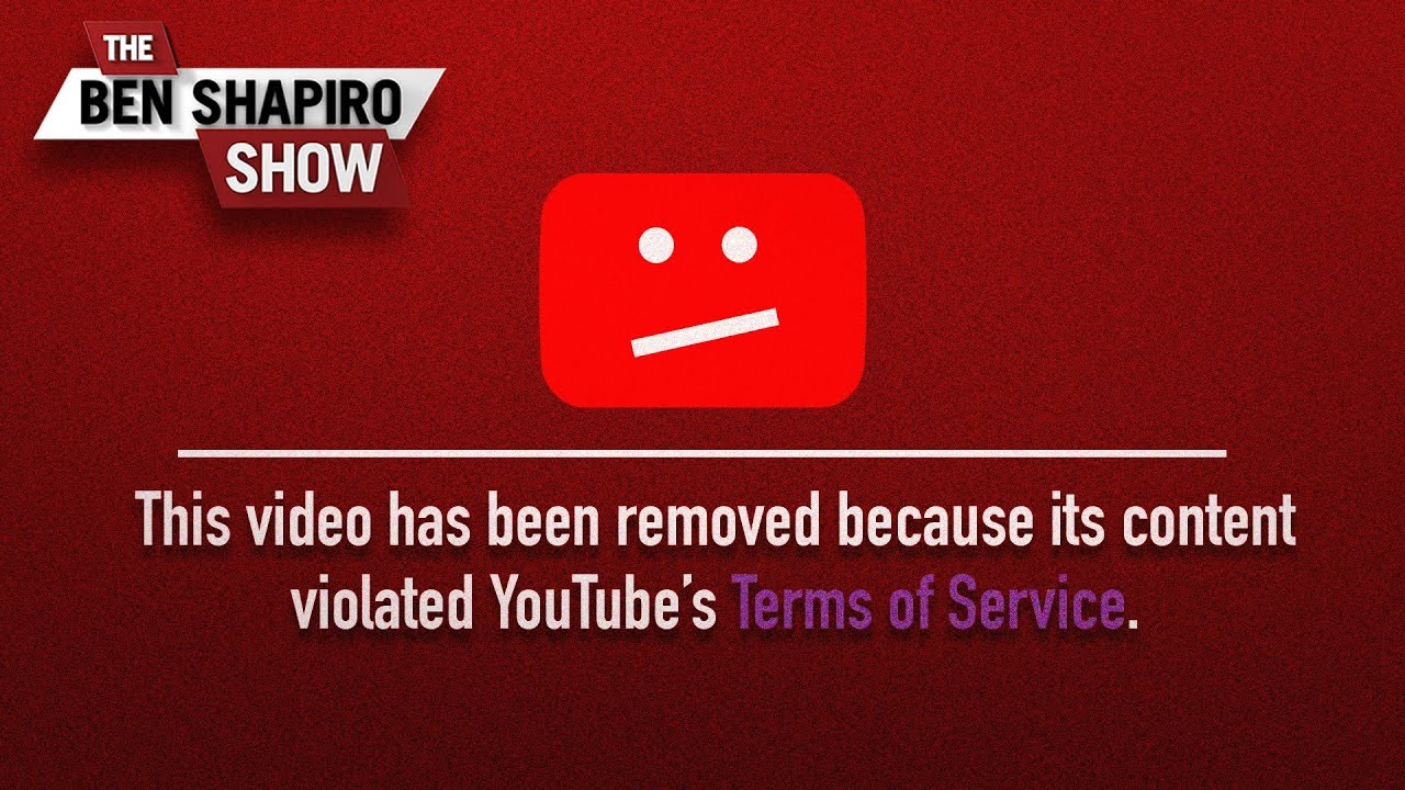 The YouTube Crackdown | The Ben Shapiro Show Ep. 796