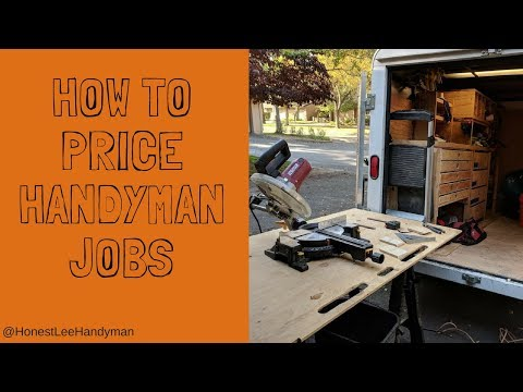 Handyman Business/ How to Price Handyman Jobs
