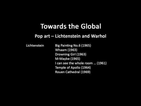 A history of modern art in 73 lectures: lecture 62 (Pop art)