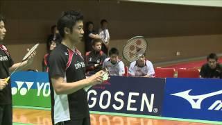 2014年全日本実業団バドミントン選手権 NTT東日本(東京)vs 日...