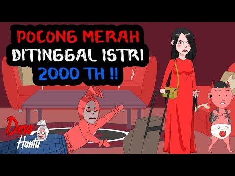 Ditinggal Bini - Pocong merah Di Tinggal Istri - Keluarga Pocong - Desa Hantu