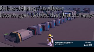 Roblox Space Mining Simulator A Good Setup [A bit Outdated]