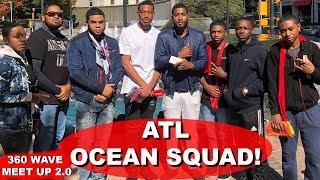 360 Wavers Take Over Downtown Atlanta - 3WP Ocean Squad!