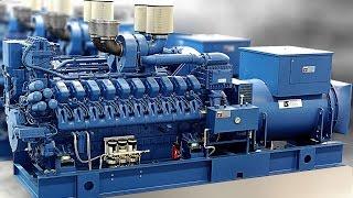 видео дизельные электростанции