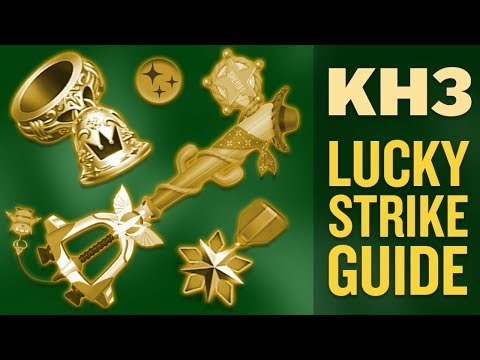 Kingdom Hearts 3 - Lucky Strike Ability Guide (Farm Items Faster in KH3)