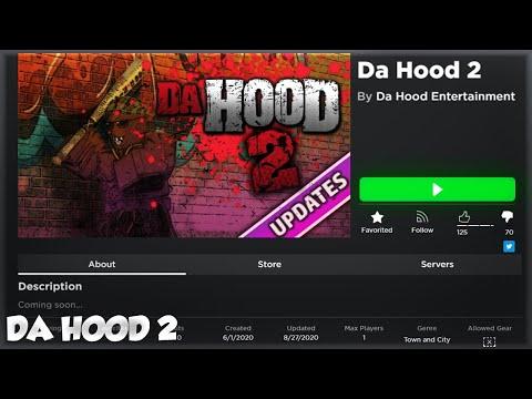 ROBLOX DA HOOD 2 RELEASE!
