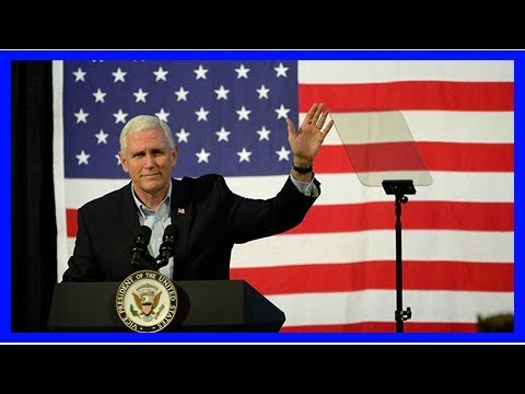 2018 Winter Olympics: VP Mike Pence to lead U.S. delegation, report says