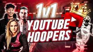 The REAL 1V1 Youtuber Basketball Tournament! (SWEET 16 & ELITE 8)