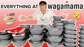 I Ate Everything At Wagamama