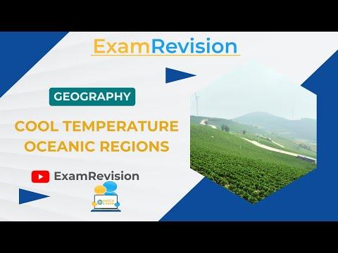 Temperate Climate - Cool Temperate Oceanic Regions