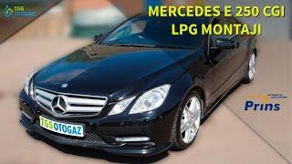 Mercedes E250 CGI PRİNS VSI 2 DI LPG MONTAJI