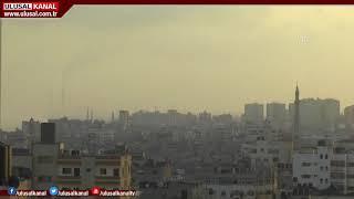 İsrail yine Gazze yi vurdu