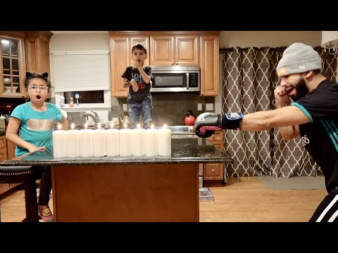 ADAM SALEH'S PUNCH VS. 9 CANDLES!!!!