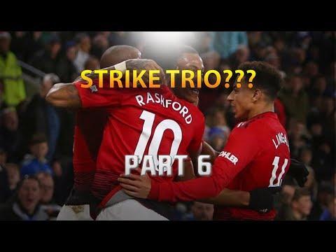 FIFA 19 MANCHESTER UNITED CAREER MODE SERIES  PART 6  STRIKE TRIO???