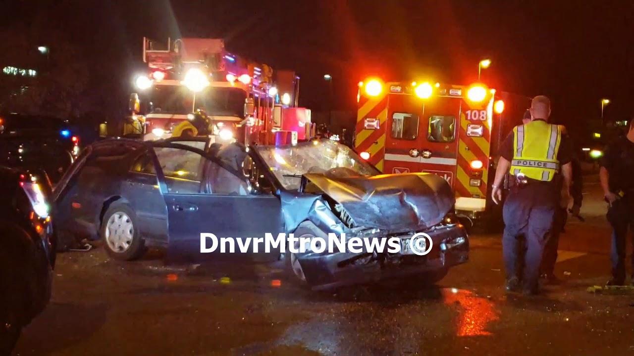 10/26/18 - Major Crash in Aurora, CO