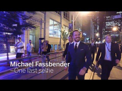 MICHAEL FASSBENDER One Last Selfie | TIFF 2016