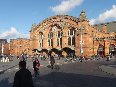 A city tour in the Trams (Bahnen) of Bremen, Germany  HD Video Part-1