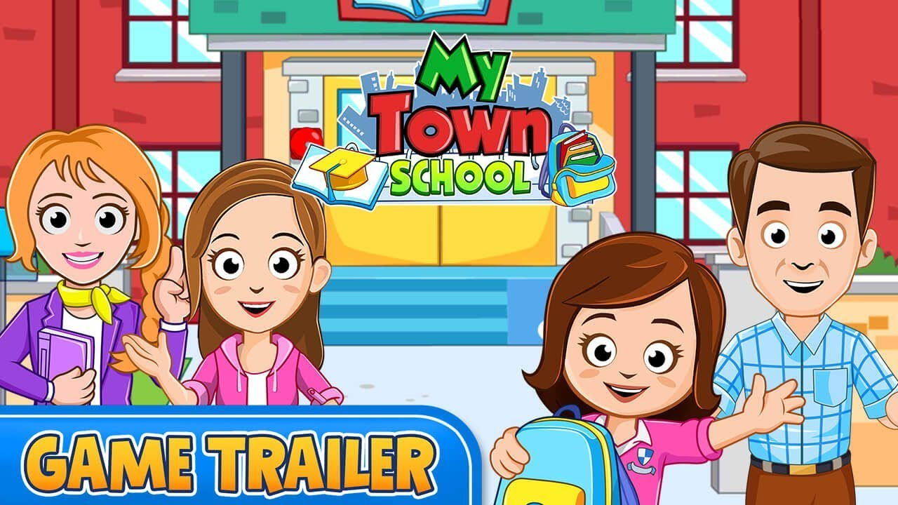 My Town : School - NEW Trailer - YouTube