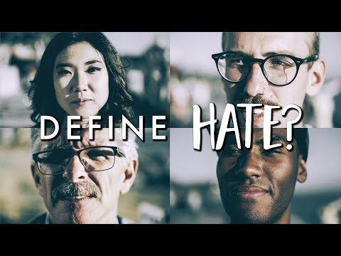 30 People 1 Question  {Day 2} Define Hate...