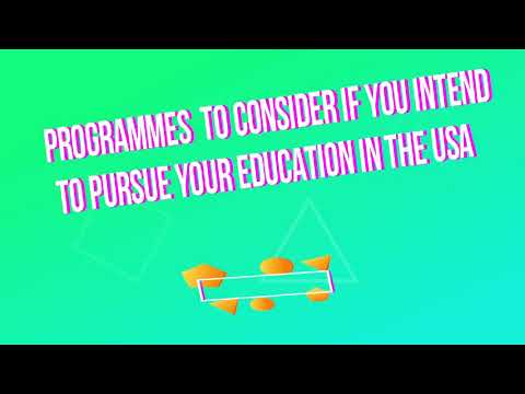 Top programs to consider if you would like to study in the United States .