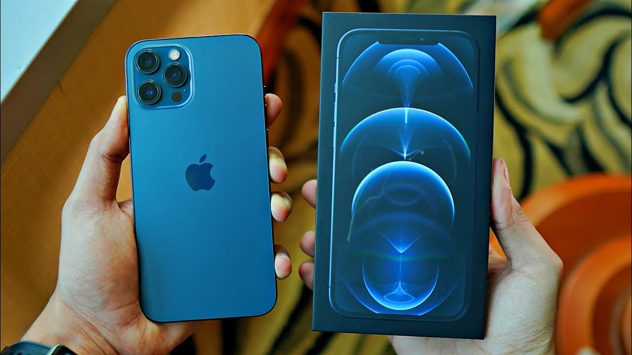 iPhone 12 Pro Max BLUE Unboxing! vs iPhone 11 Pro Max, Note 20 Ultra, 12  Pro & More! - YouTube