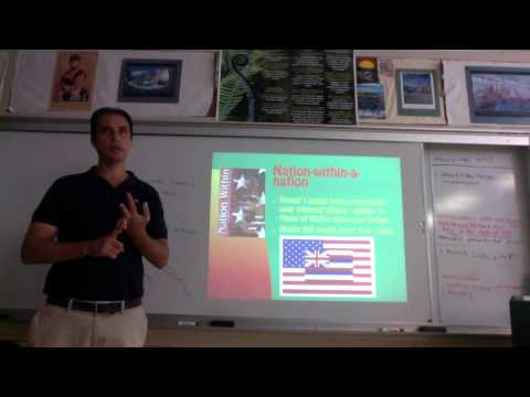 Hawaiian Sovereignty Movement - Part 1