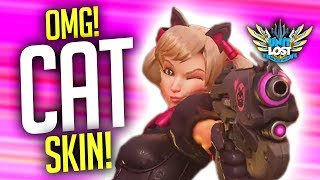 Overwatch - BLACK CAT D.VA (Legendary Skin) + All NEW Skin and Item Reveals!