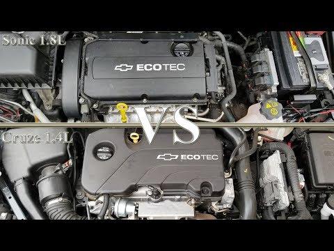 2013 Chevrolet Sonic (1.8L) Vs 2017 Chevrolet Cruze (1.4L) - Acceleration