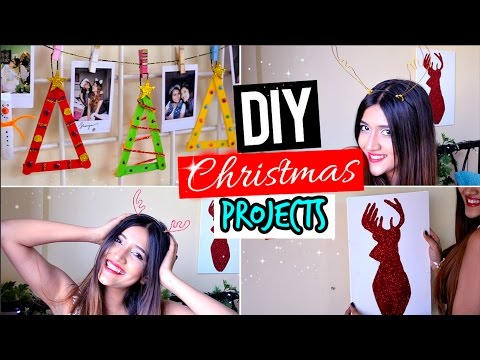 4 Christmas/Holidays Easy & Cheap DIY Projects!!!