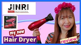 Jinri 1875w Hair Dryer Sterilization Professional Tourmaline Unboxing And Review