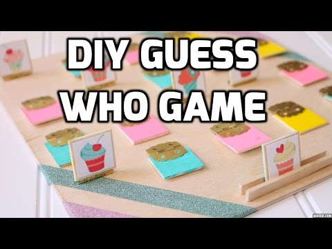 Diy guess who game youtube diy guess who game solutioingenieria Choice Image