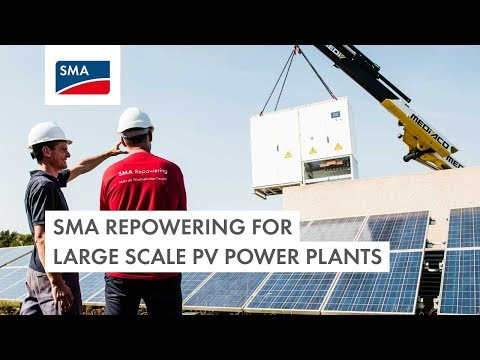 SMA Repowering for large scale PV power plants