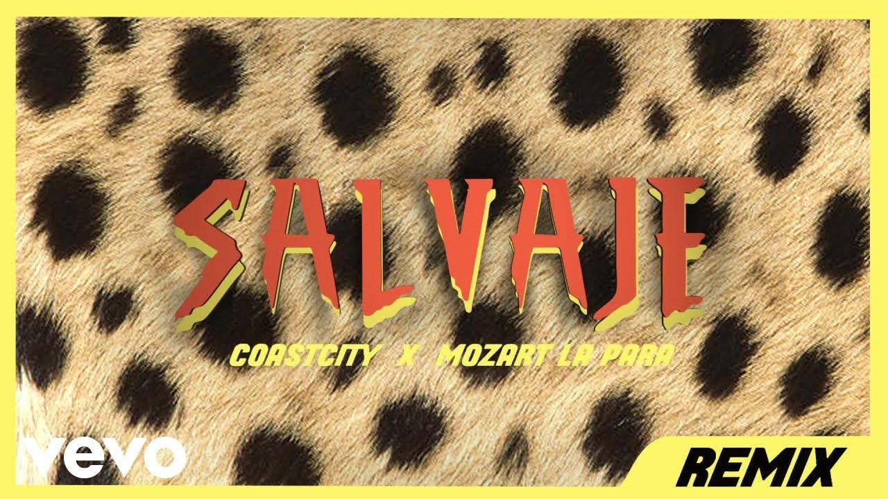 COASTCITY - Salvaje (Remix) [Audio] ft. Mozart La Para