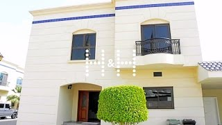 4 Bedrooms Villas with pool & landscaping! Splendour Villas, Jumeirah, Al Safa 1, for rent!