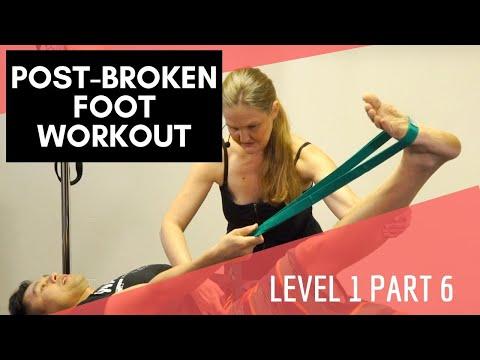 Upside-Down Pilates - Post-Broken Foot Workout - Part 6