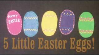 Preschool Songs For Easter - 5 Little Easter Eggs - Littlestorybug