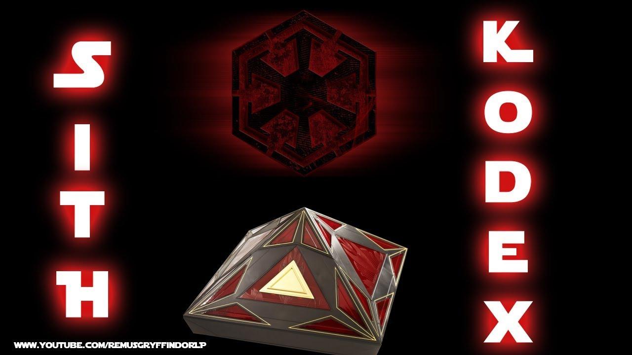 Der Sith Kodex Und Seine Bedeutung Youtube