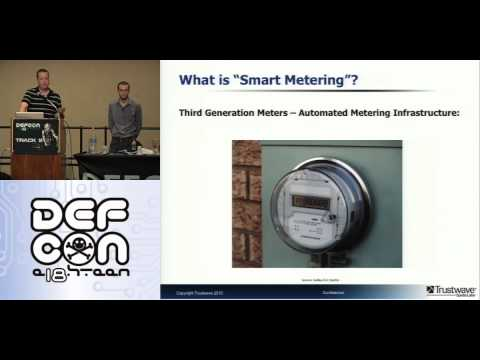 DEFCON 18: The Night The Lights Went Out In Vegas: Demystifying Smartmeter Networks 1/4