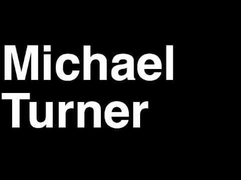 How to Pronounce Michael Turner Atlanta Falcons NFL Football Touchdown TD Tackle Hit Yard Run