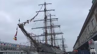 See Inside Tall Ship Oliver Hazard Perry Sail Boston 2017
