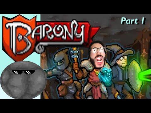 BiG TrOlL DeMoLiShEs shmoll ME   BARONY Part 1  