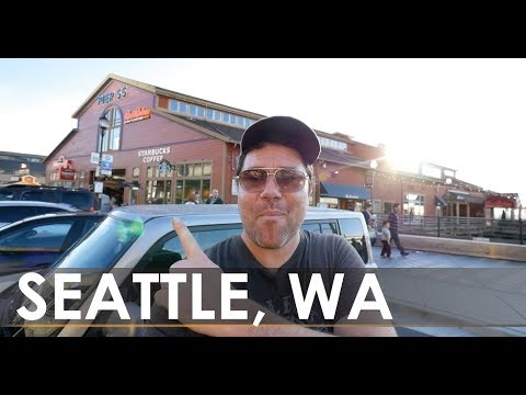 Seattle Waterfront + Pike Place Market - Seattle vlog