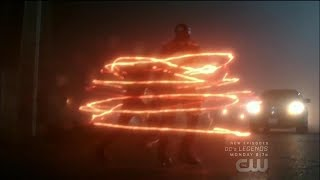 Arrow 6x13 Barry takes Oliver and Diggle to Cayden James
