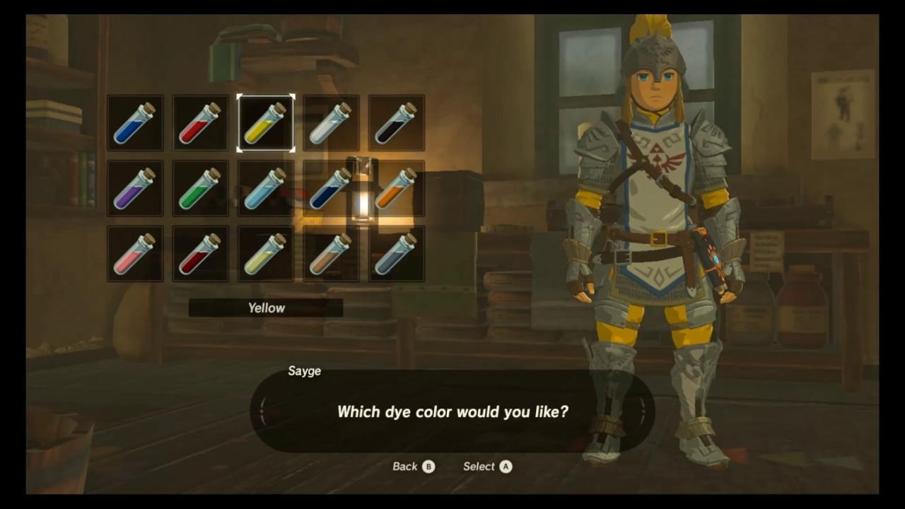 Legend Of Zelda Breath Of The Wild Soldier S Armor Set