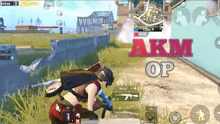 Pubg Mobile : 4 Finger Claw is too Easy | AKM OP | Like & Subscribe.
