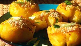 Теперь Это Любимое Блюдо! Картофель с Чесночным Маслом!