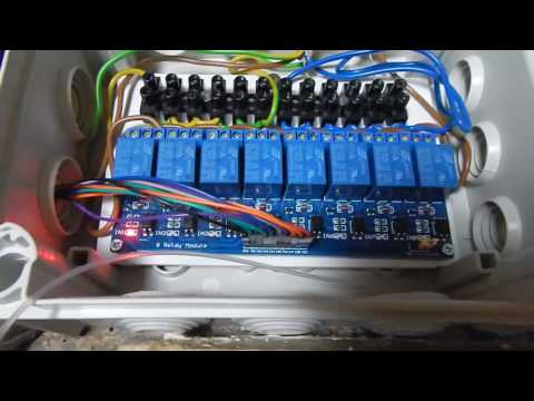 Electrical Installation for Home Automation: Turn lights on and off using Raspberry Pi 3
