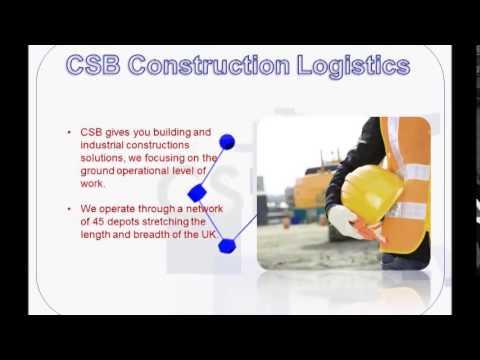 lean logistics and construction site logistics CSB Logistics
