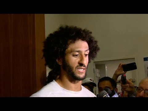 Colin Kaepernick defends his national anthem protest