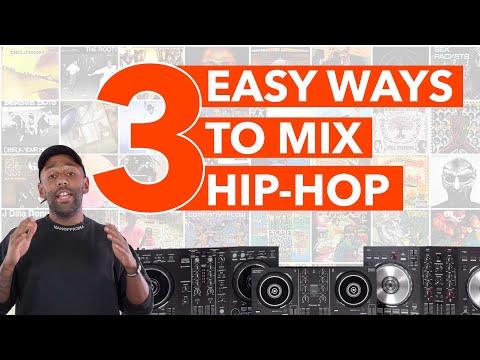 3 Easy Hip Hop Mixing Techniques - Beginner DJ Tutorial
